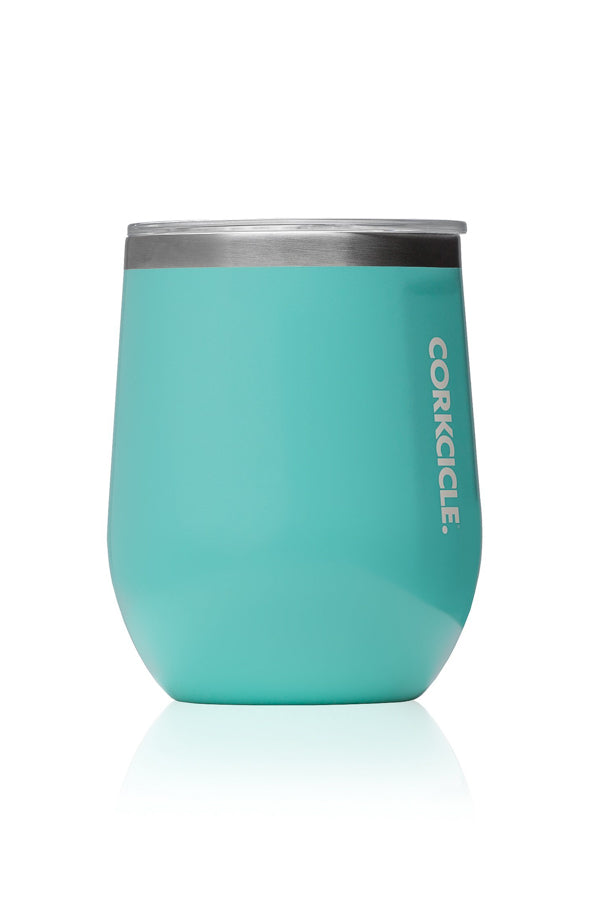 Stemless Corkcicle- Turquoise