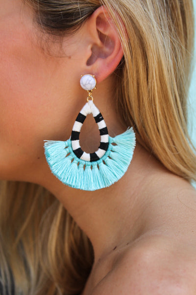 Odessa Fringe Earrings