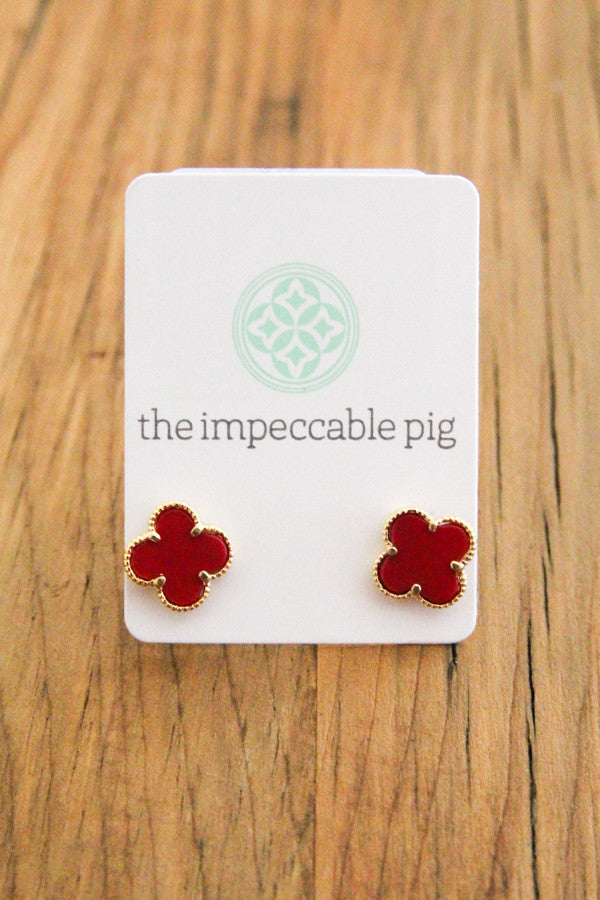 Red Clover Studs