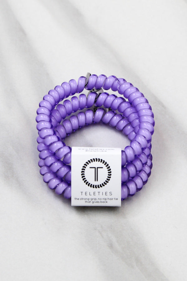 Teleties Small Hair Ties - Lilac
