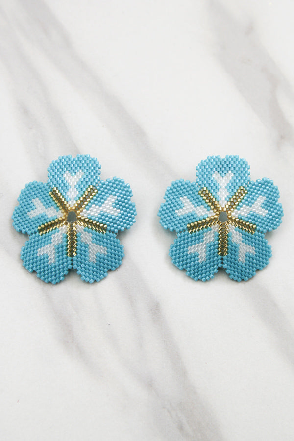 Hanging Out Earrings - Turquoise