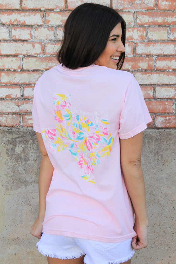 Blossom Floral Texas Pig Tee