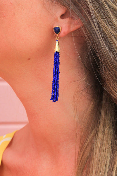 Cobalt Cutie Earrings