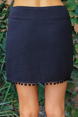 Believe in Magic Embroidered Skirt