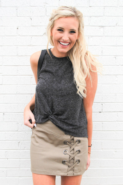 Olive Must-Have Mini Skirt