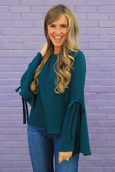 Bold Bell Sleeve Top