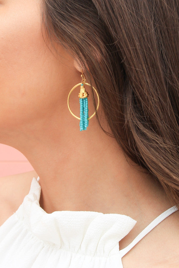 Turquoise Show Off Earrings