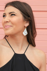 Marble Statement Earrings
