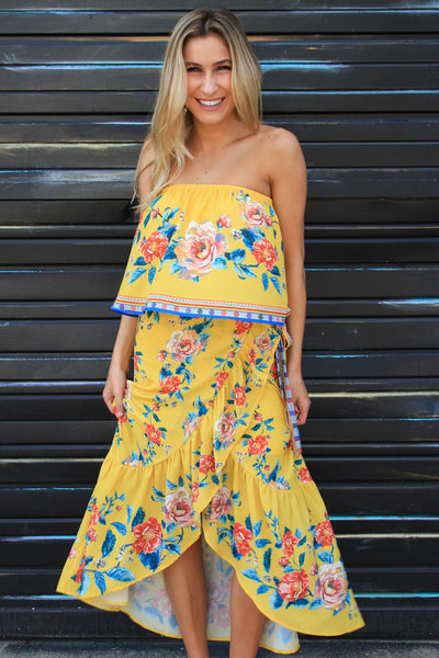 Mellow Yellow Maxi Skirt
