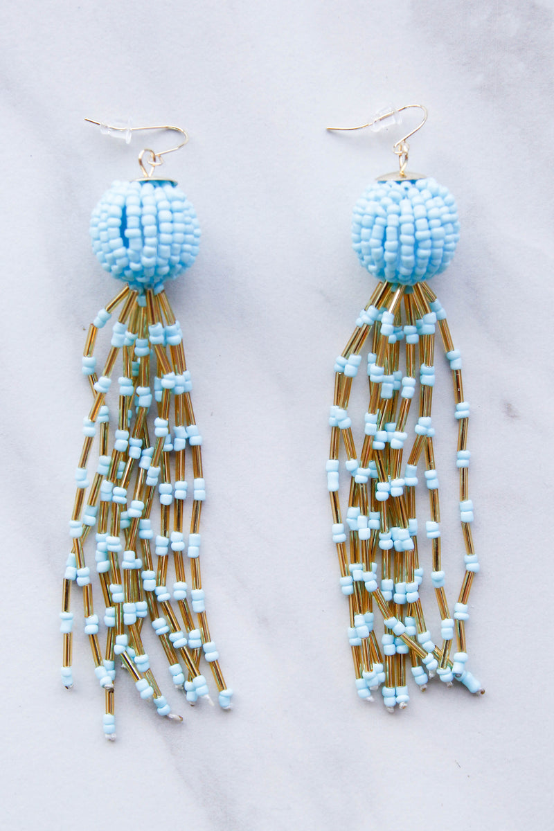 Sparkle & Shine Earrings - Blue