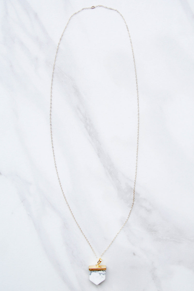 Nikki Smith Finer Things Marble Necklace