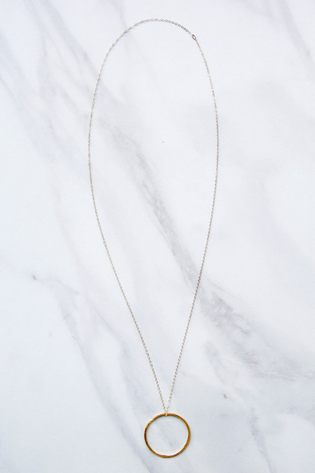 Nikki Smith Full Circle Gold Necklace