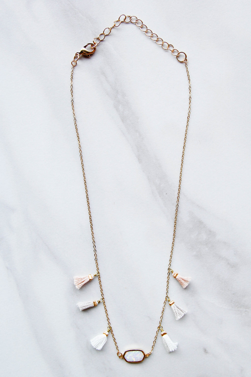 Tassel Crush Necklace