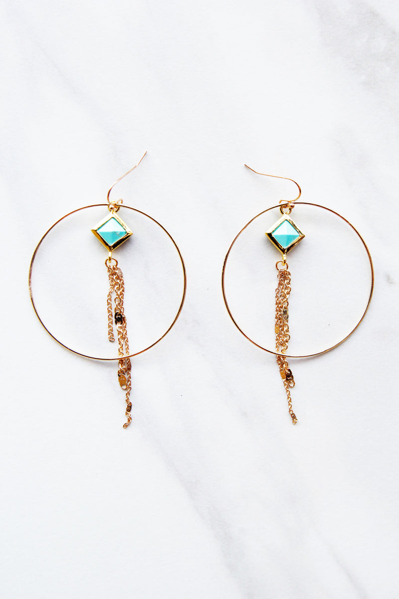 Jasmine Turquoise Earrings