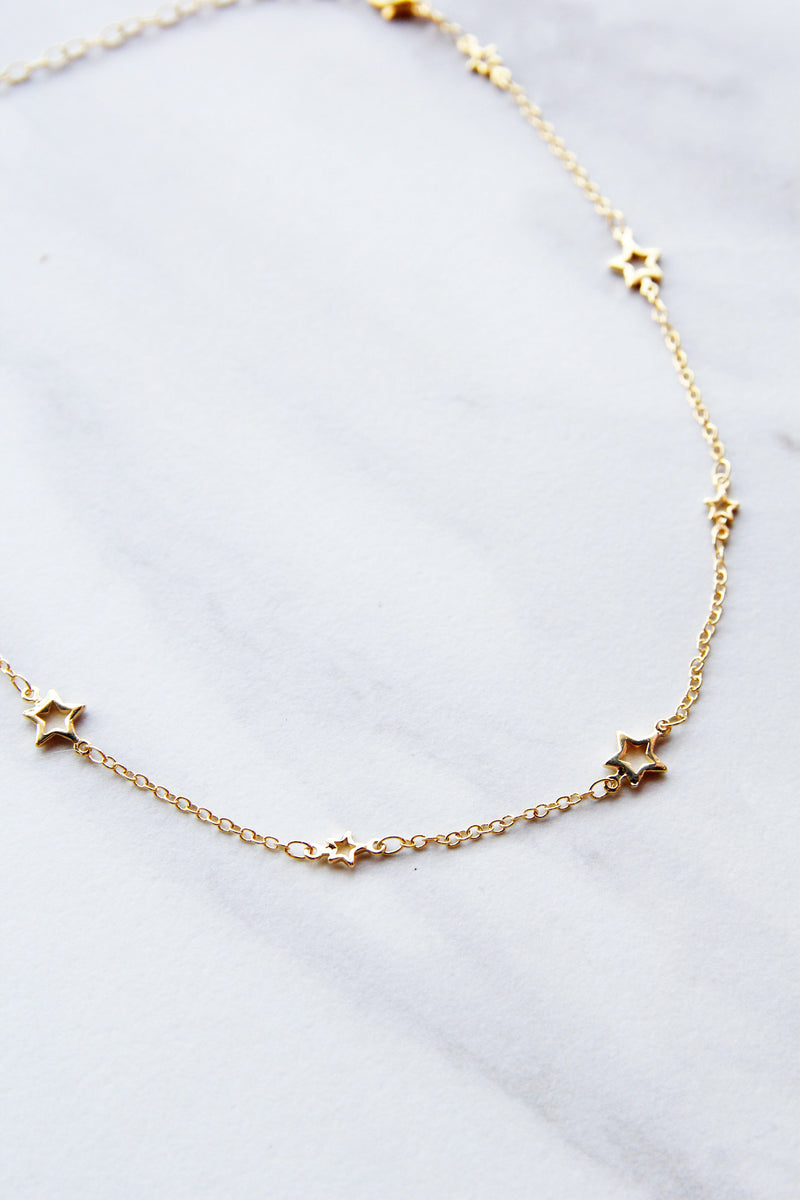 Starlight Gold Choker
