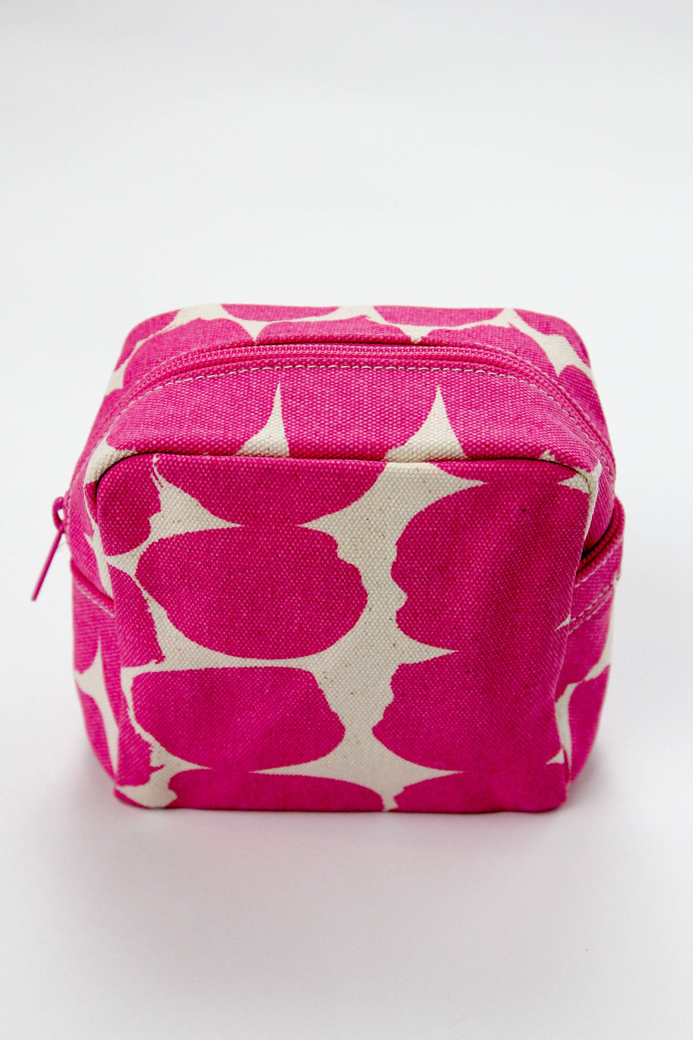 Small Cosmetic Bag - Big Smudge Pink