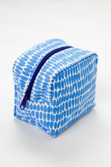 Small Cosmetic Bag - Seeds Periwinkle