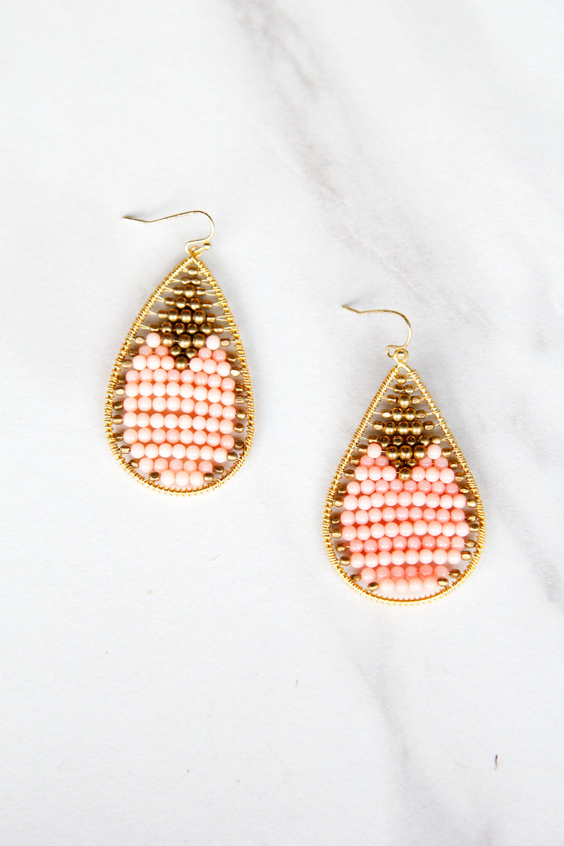 Beverly Beaded earrings