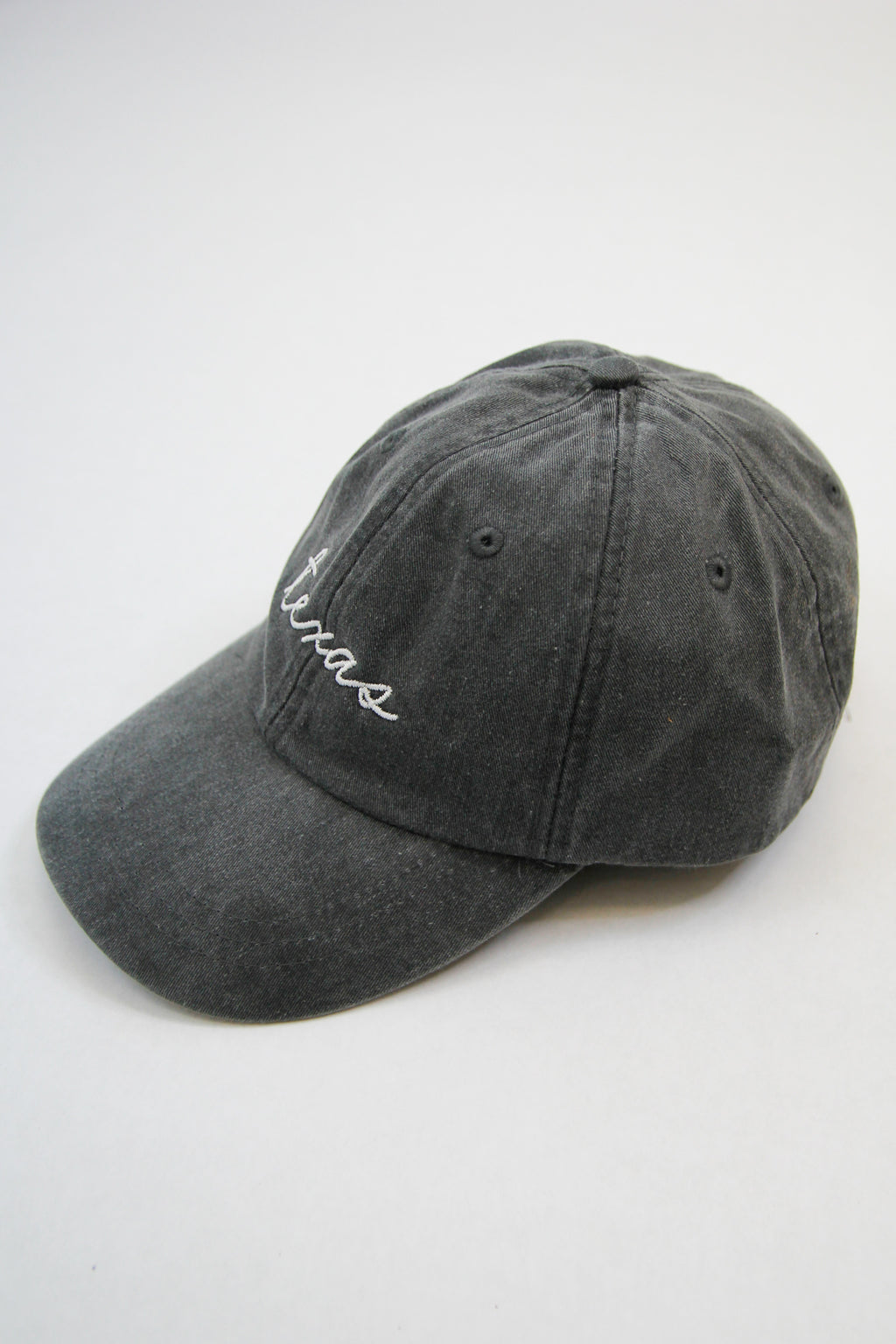 Texas Ball Cap - Charcoal