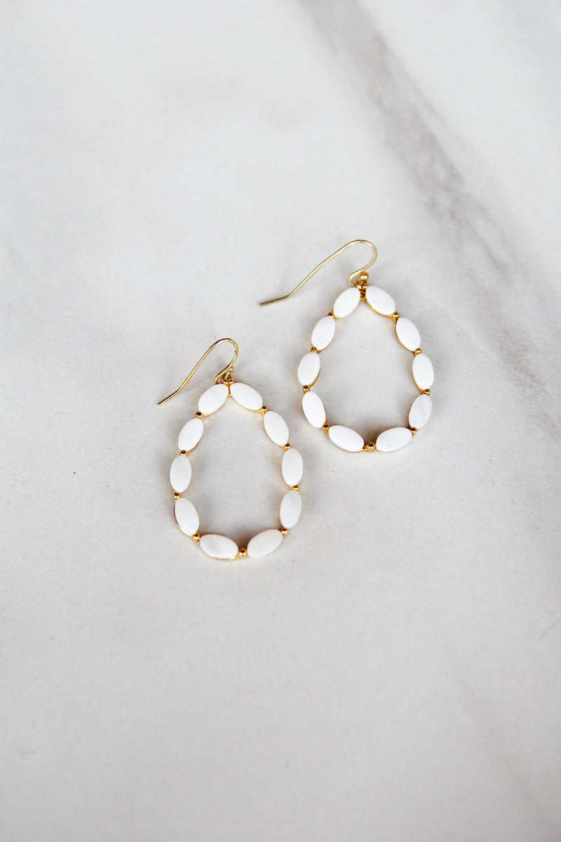 White Spaced Hoops