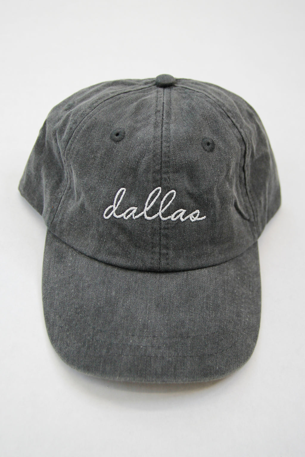 Dallas Ball Cap - Charcoal
