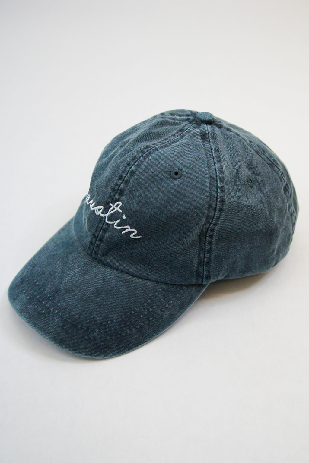 Austin Ball Cap - Washed Blue