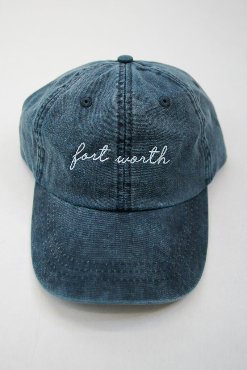 Fort Worth Ball Cap - Washed Blue