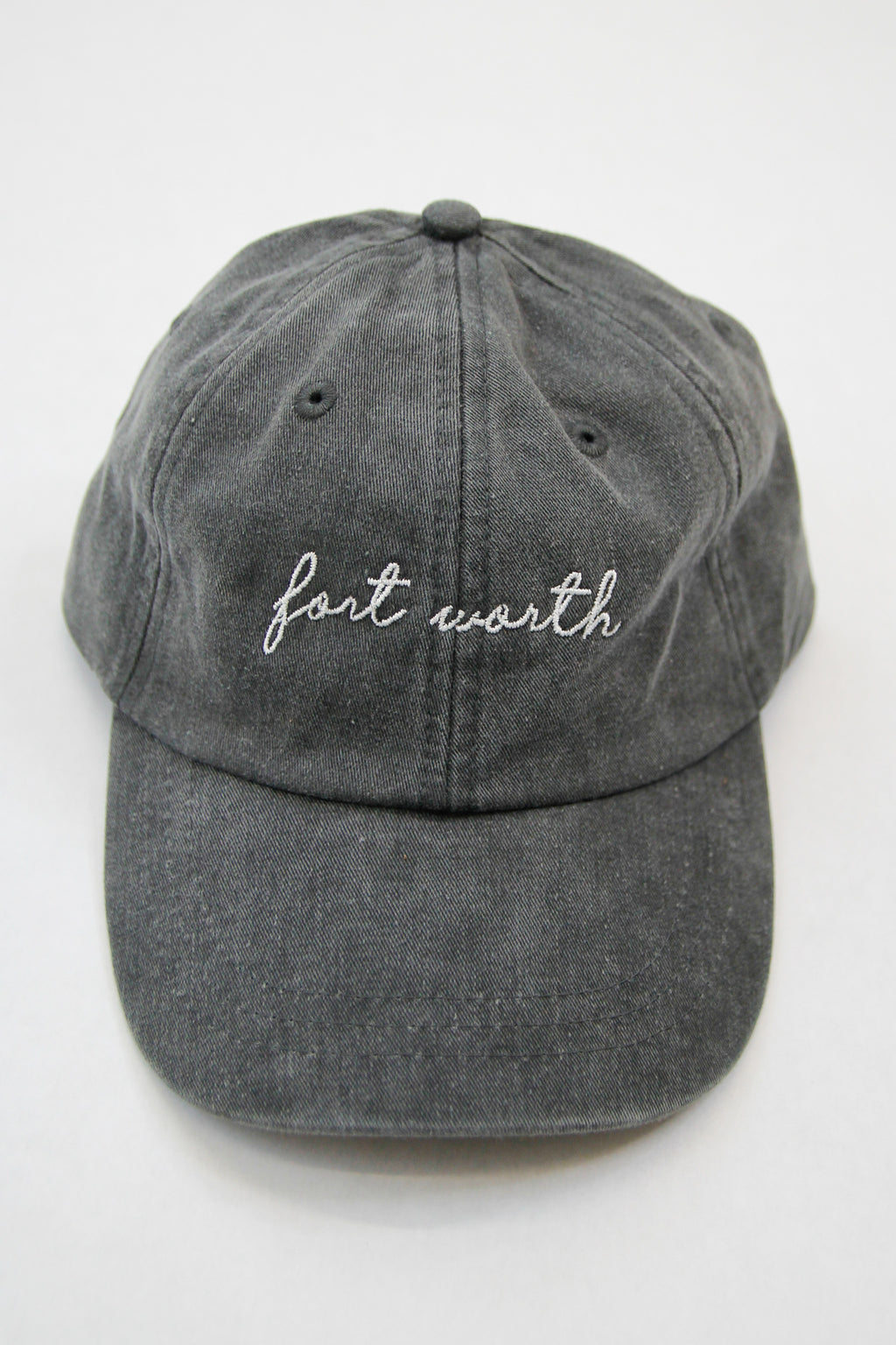 Fort Worth Ball Cap - Charcoal