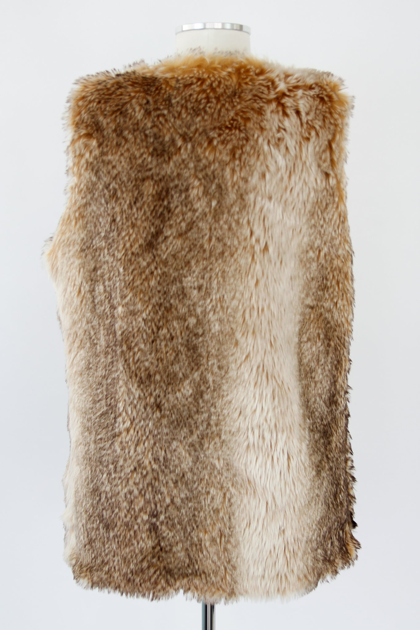 There Fur You Vest - Brown