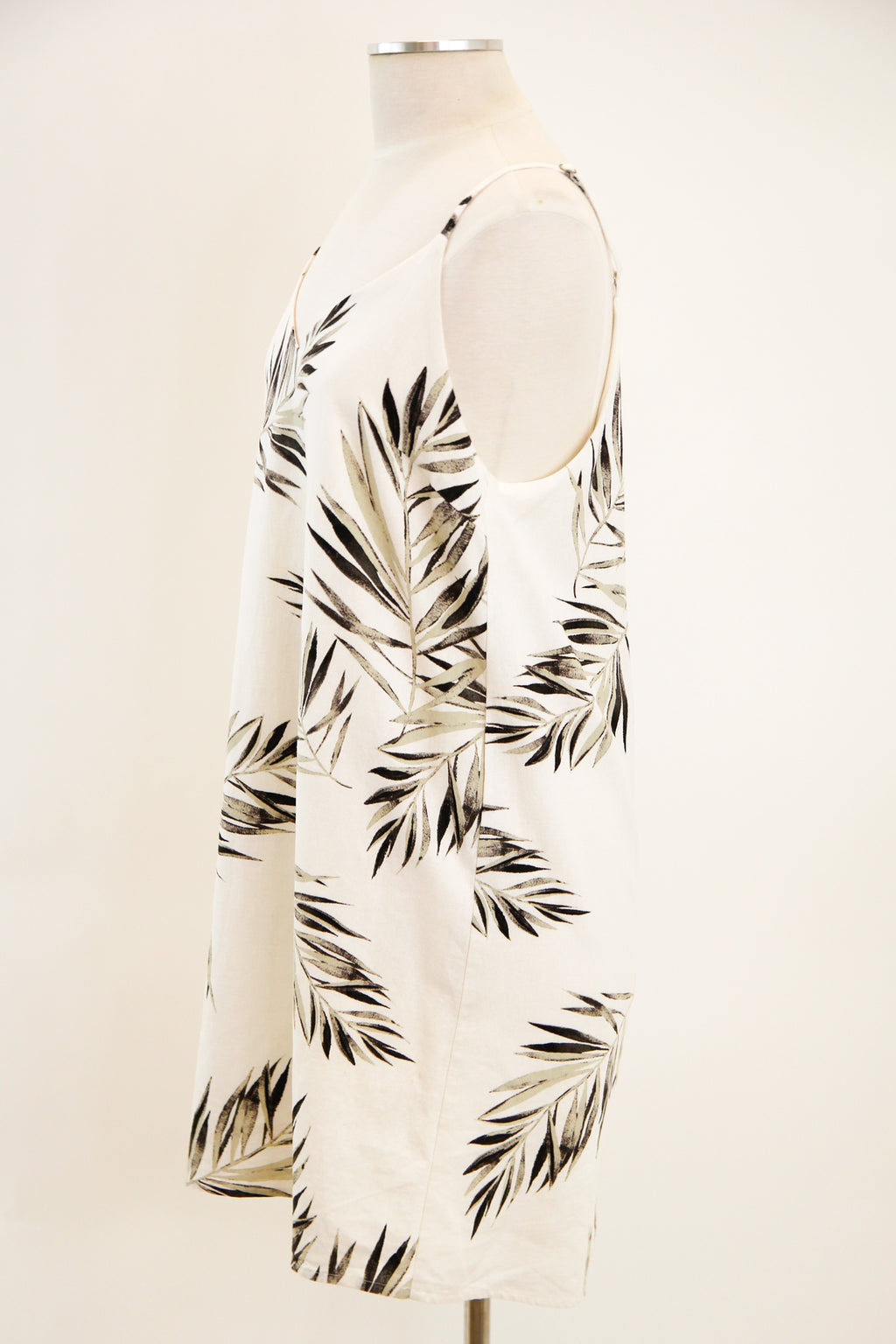 Palm Before The Store Dress - Ivory
