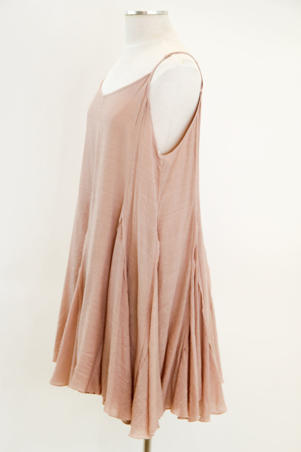 Go With The Flow Dress - Blush