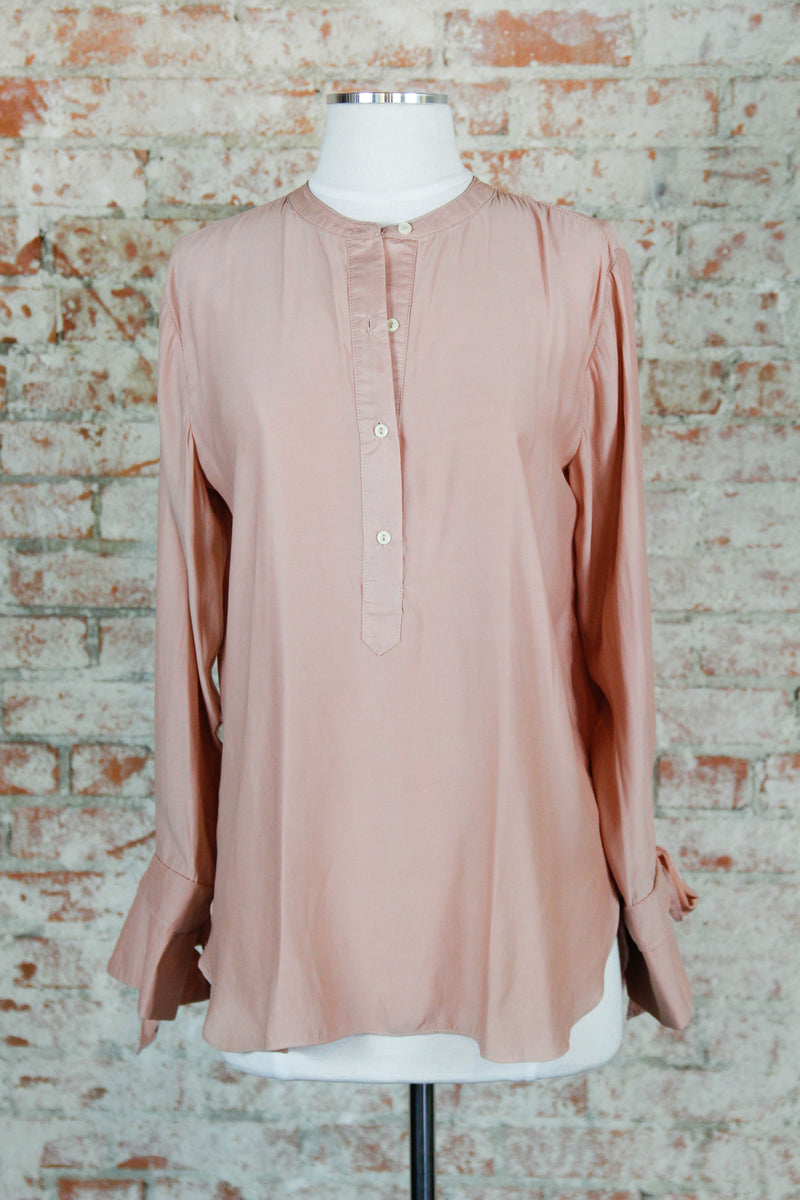 Button Blush Blouse