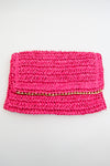A Little Edge Purse - Fuchsia