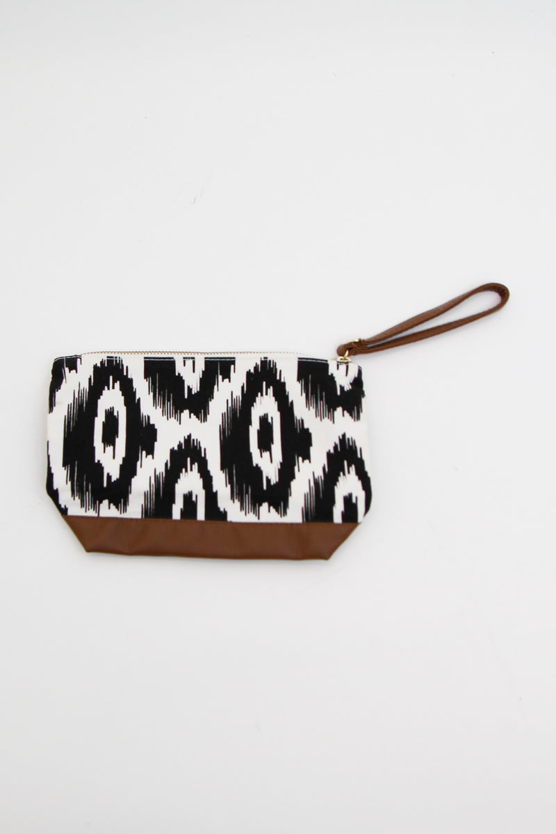Eye For It Makeup Bag - Black & White