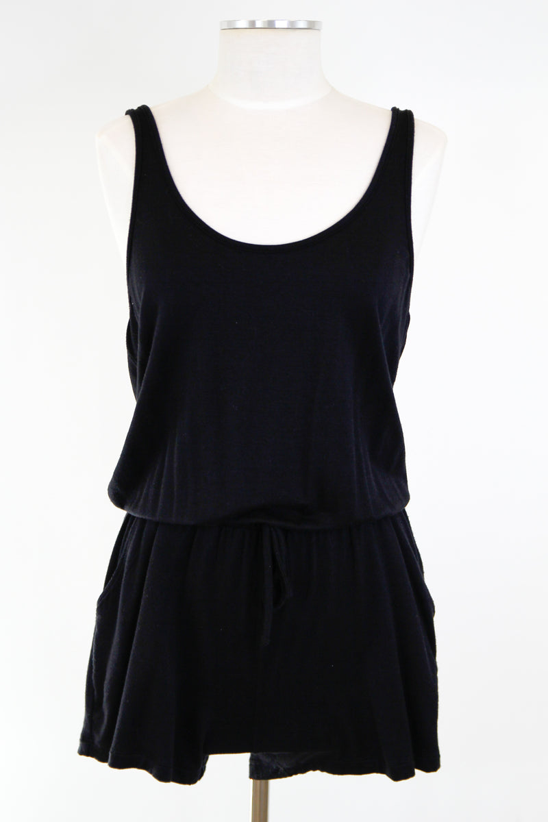 Comfy Saturday Romper - Black