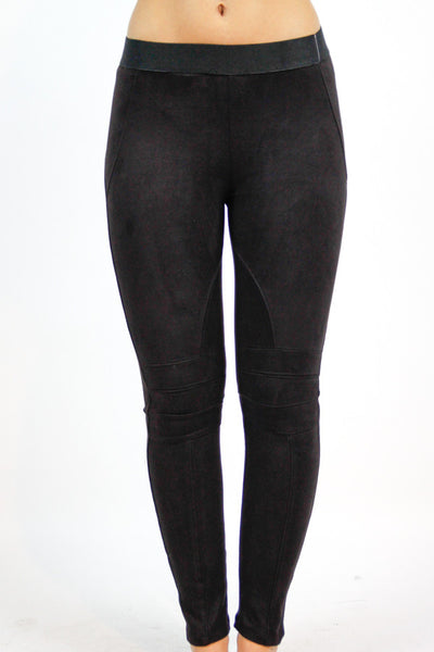 Black All In the Detail Leggings