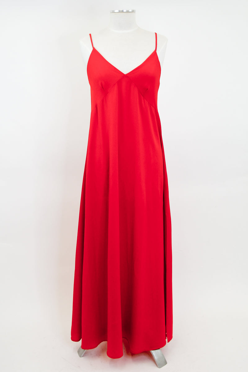 First Impressions Maxi Dress - Red