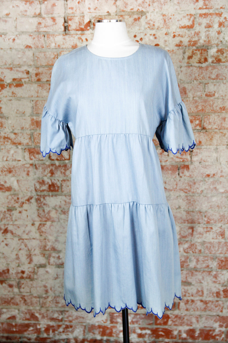 Denim Day Out Dress