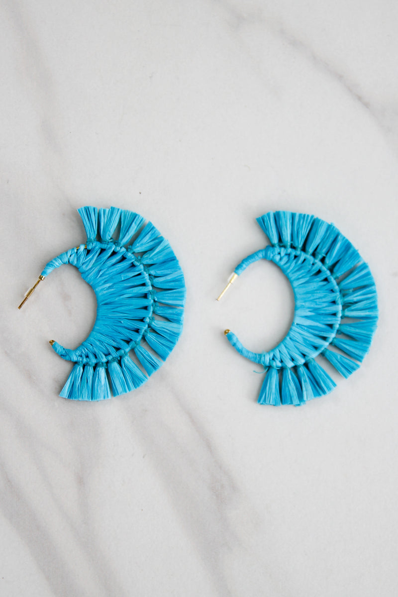 Oceanside Cabana Earrings - Turquoise