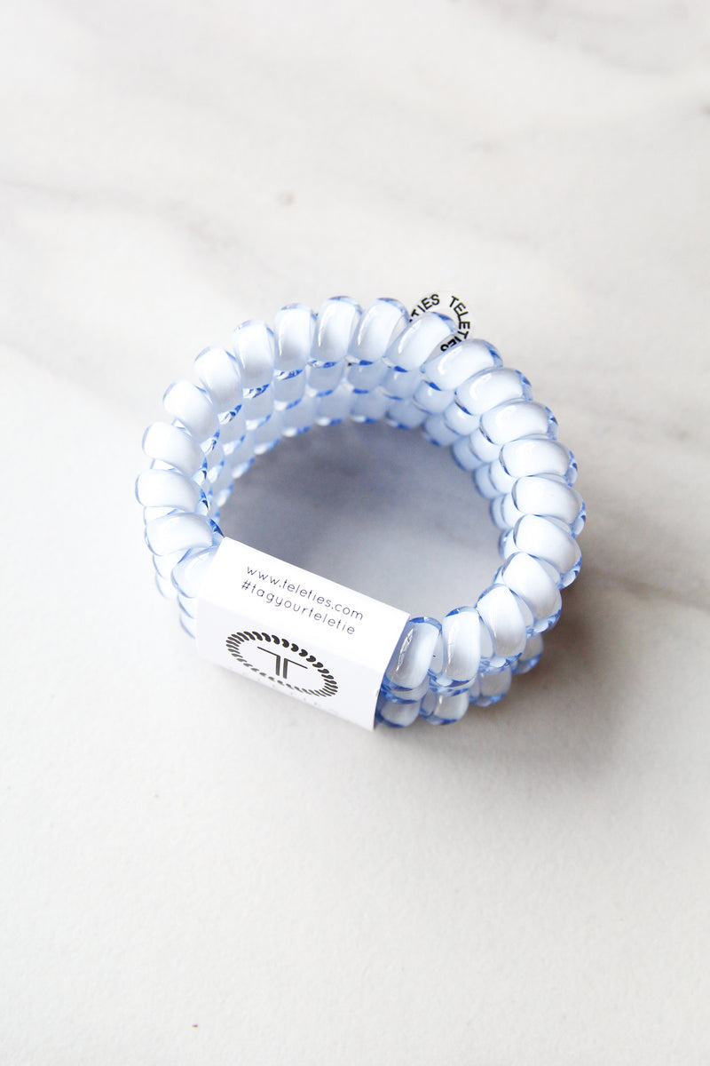 Teleties Large Hair Ties - Washed Denim