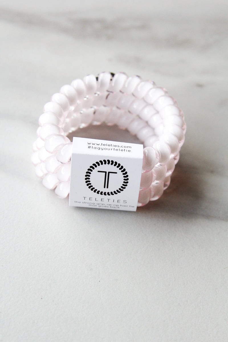 Teleties Large Hair Ties - Rose Water