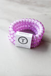 Teleties Large Hair Ties - Lavender Fields