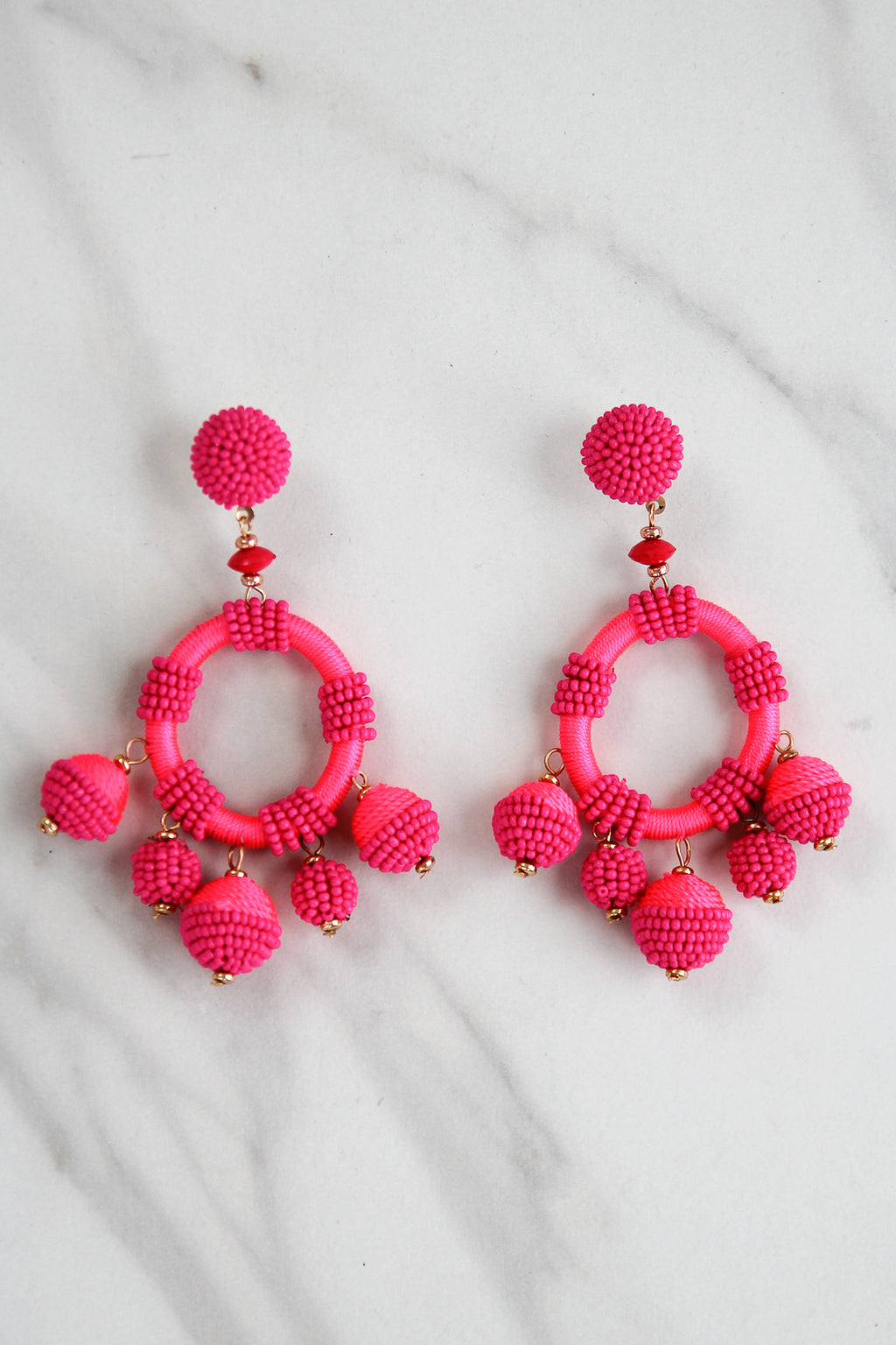 Oh Buoy! Earrings - Pink