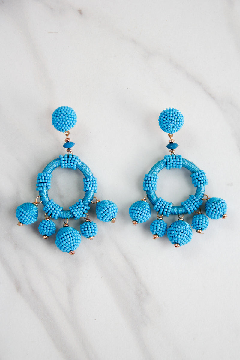 Oh Buoy! Earrings - Blue