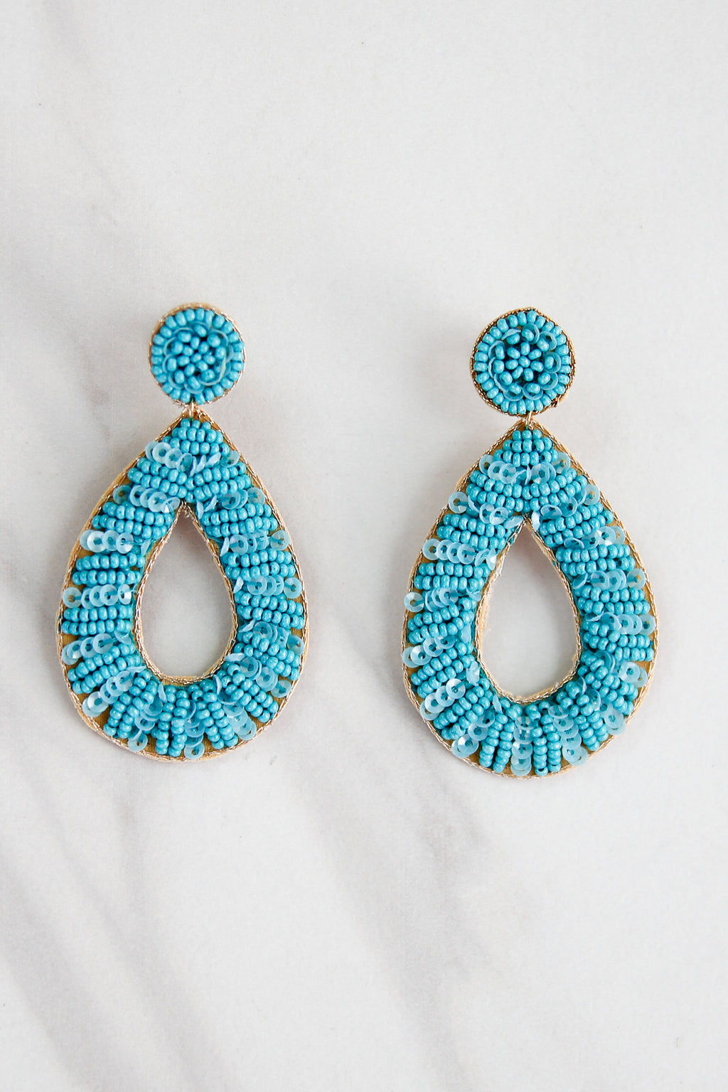 Atlantic Earrings - Turquoise