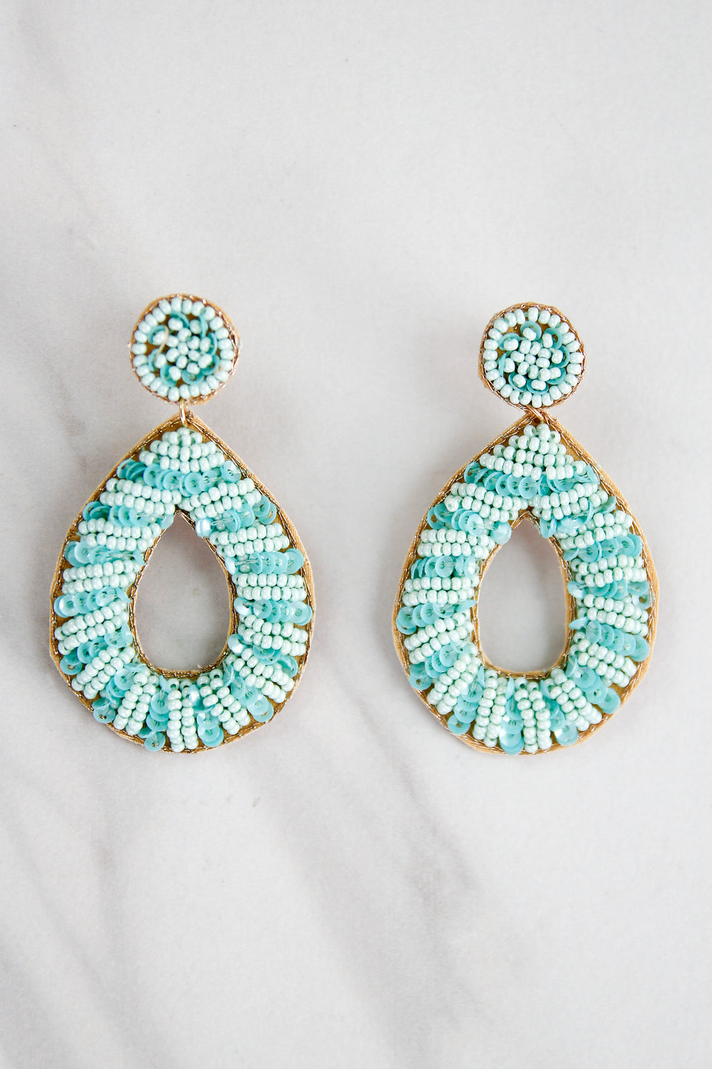 Pacific Earrings - Mint