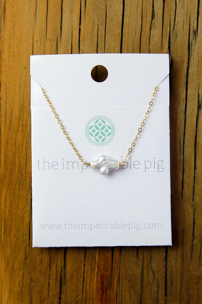 Pearl Gem Necklace
