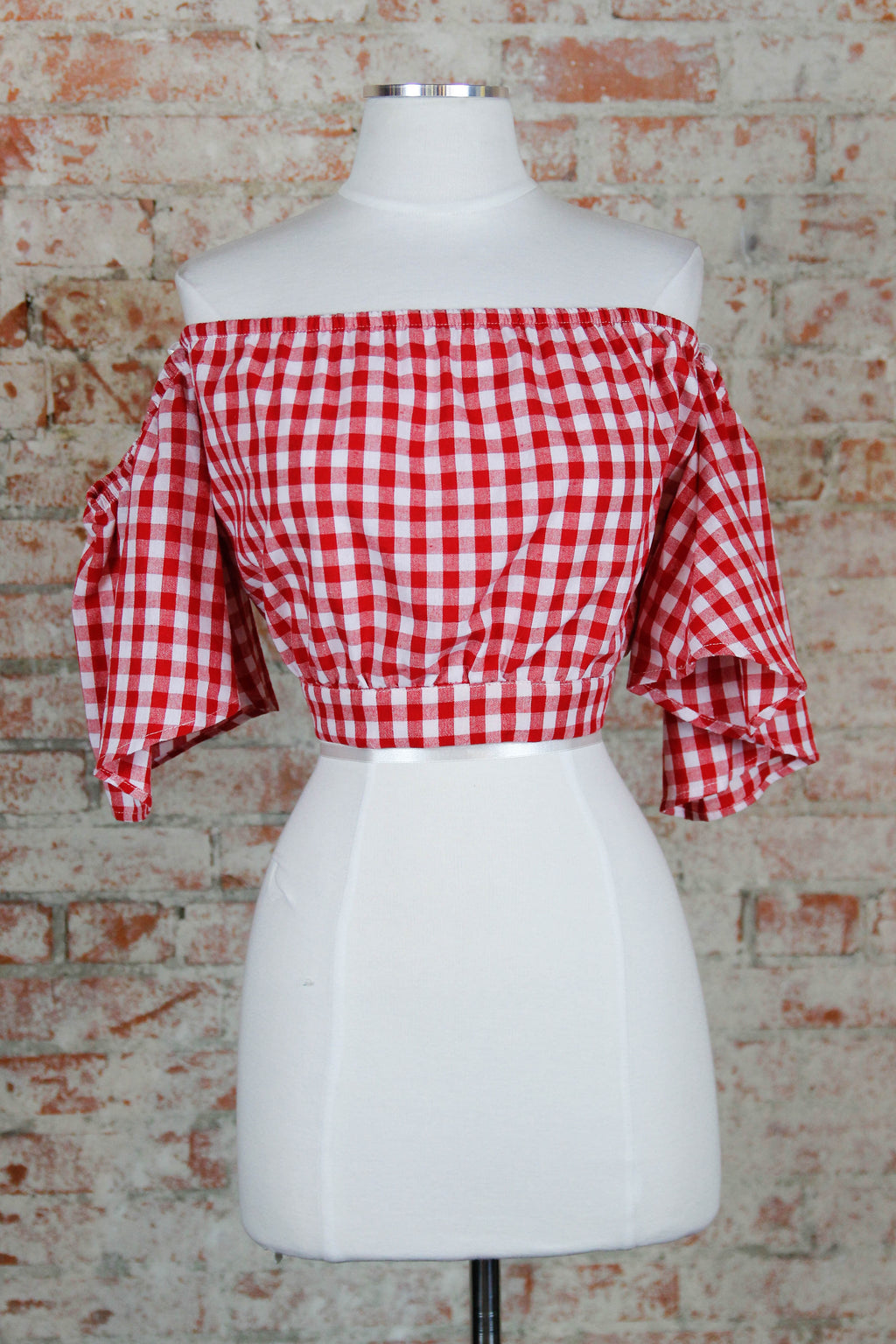 Picnic Party Top - Red