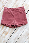 berry pink shorts