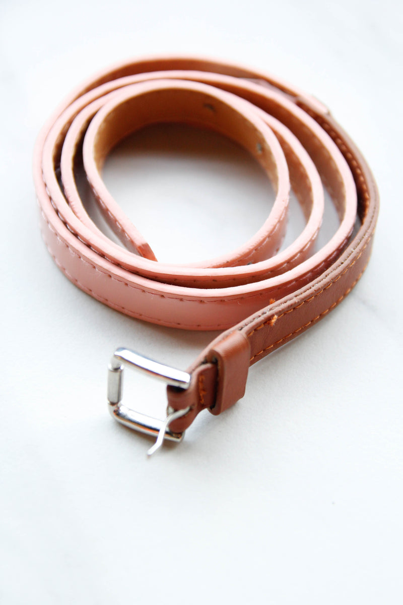 Retro Feels Belt - Peach